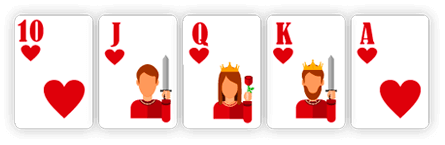 Royal Straight Flush - Poker