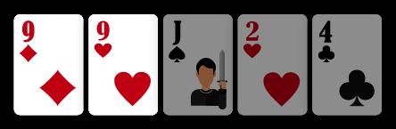 Um Par - Poker