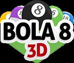 logo Sinuca Bola 8 3D - MegaJogos