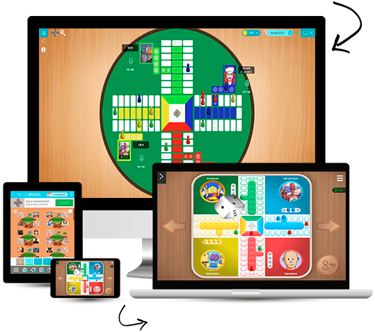 Gameplay Parchis